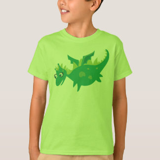 Green Dragon tshirt for kids