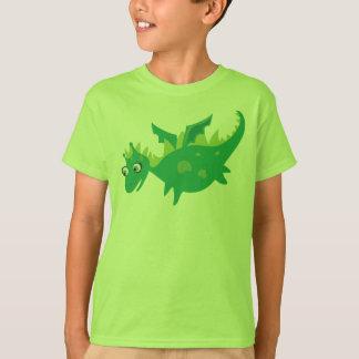 Green Dragon tshirt for kids