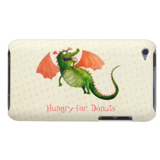 Green Dragon with Donut iPod Touch Cover