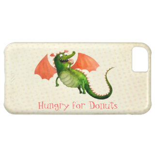 Green Dragon with Donut iPhone 5C Case