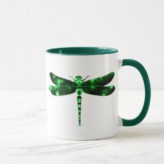 Green Dragonfly Mug