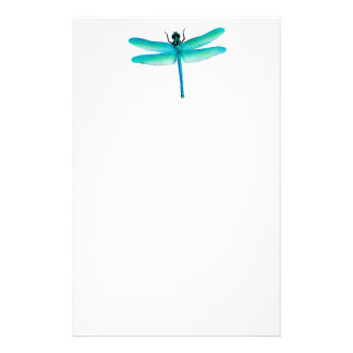 Green Dragonfly Stationery