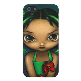 """""""Green Dragonling"""" iPhone 4 Case"""
