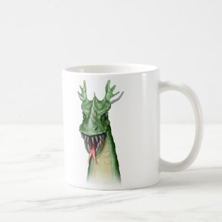 Green Dragons Coffee Mugs