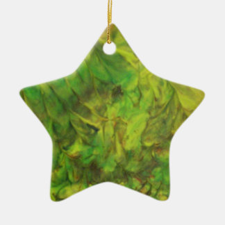 green dream christmas ornament