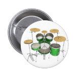 Green Drum Kit: Pin
