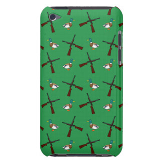 Green duck hunting pattern barely there iPod cover