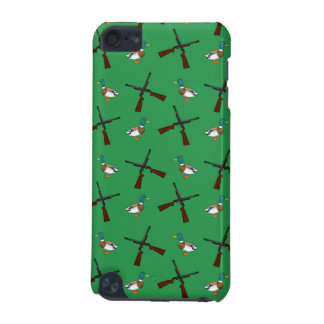Green duck hunting pattern iPod touch 5G cases