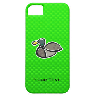 Green Duck iPhone 5 Cover