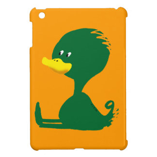 Green ducky iPad mini cover
