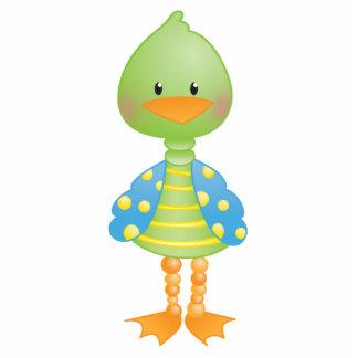 Green Ducky Photo Sculpture Magnet