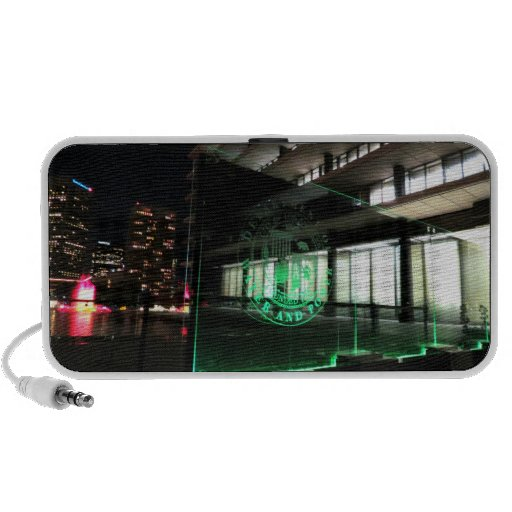 Green DWP Sign PC Speakers