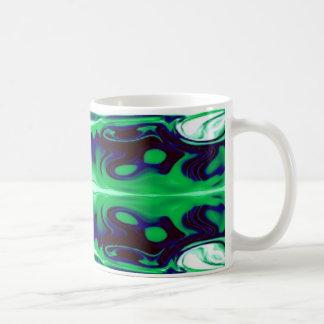 Green Earth Abstract Coffee Mug