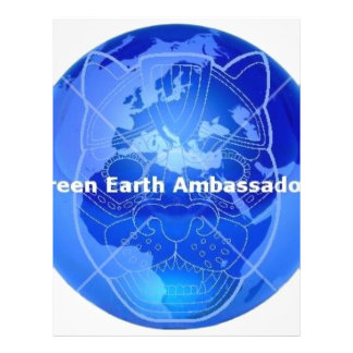 Green Earth Ambassadors Personalized Flyer