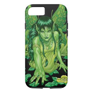 Green Earth Fairy Illustration by Al Rio iPhone 7 Case