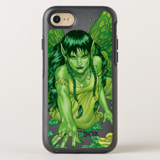 Green Earth Fairy Illustration by Al Rio OtterBox Symmetry iPhone 7 Case