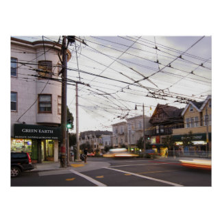 Green Earth Foods - San Francisco Poster
