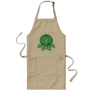 Green Earth Long Apron