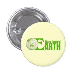 Green Earth - Square Button