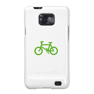 Green Eco Bicycle Galaxy SII Cover