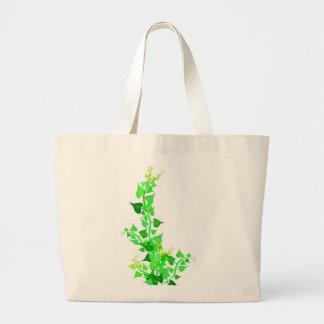green eco vine canvas bags