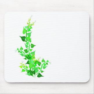 green eco vine mouse pad