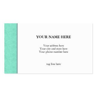 """Green Edge"" Business Card"