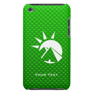 Green Egyptian Pyramid Barely There iPod Case