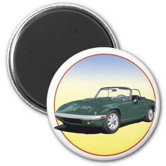 Green Elan S4 Magnet