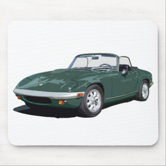 Green Elan S4 Mouse Mat