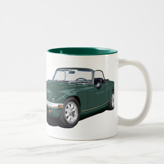 Green Elan S4 Two-Tone Coffee Mug