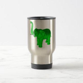 Green Elephant Stainless Steel Travel Mug