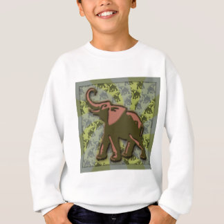 Green Elephant Sweatshirt