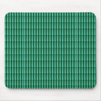 Green Embossed Stripes TEMPLATE add TEXT IMG Gifts Mouse Pad