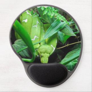 Green Emerald Boa Gel Mouse Mats