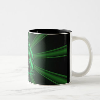 Green Emerald Dragon Pattern Mug