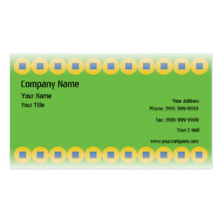 Green Energy. Pack Of Standard Business Cards
