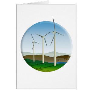 Green Energy Wind Turbine