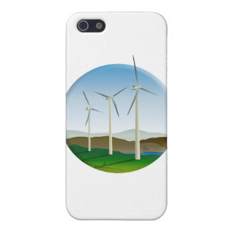 Green Energy Wind Turbine Case For iPhone 5/5S