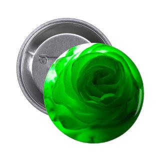 Green Envy Rose.jpg 6 Cm Round Badge