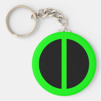 Green Equality Keychain