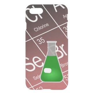 Green Erlenmeyer (Conical) Flask Chemistry iPhone 7 Case