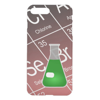 Green Erlenmeyer (Conical) Flask Chemistry iPhone 7 Plus Case