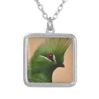 Green Exotic Bird Pendant