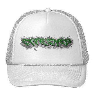 green extremes graffiti trucker hat