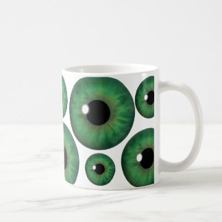Green Eye Iris Cool Custom Mug
