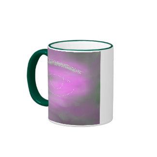 Green Eye Ringer Mug