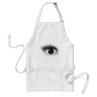 Green eye. standard apron