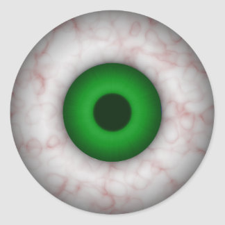 Green Eye Sticker