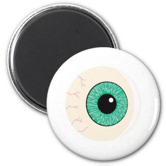 green eyeball refrigerator magnets